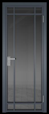 Межкомнатная дверь AG - 5 антрацит, планибель графит