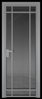 Межкомнатная дверь AG - 5 серый, планибель графит