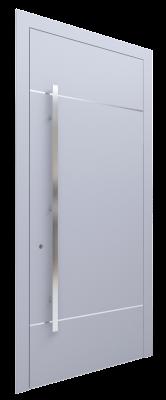 Входная дверь AL - 1 серый