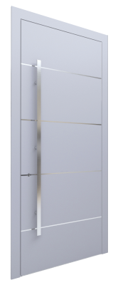 Входная дверь AL - 2 серый
