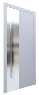 Входная дверь AL - 3 серый