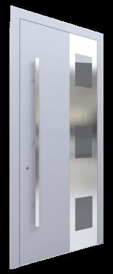 Входная дверь AL - 4 серый