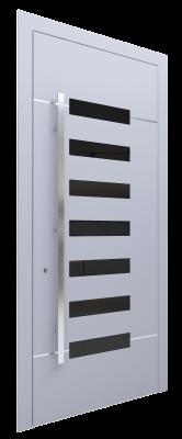 Входная дверь AL - 5 серый