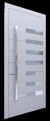Входная дверь AL - 6 серый