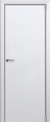 """Межкомнатная дверь """"1 Е"""", Аляска, кромка 4 стор. ABS, Eclipse"""