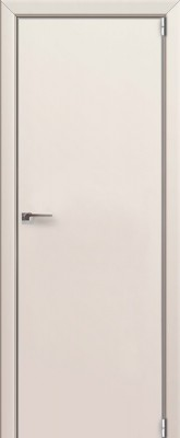 "Межкомнатная дверь ""1 Е"", Магнолия сатинат, кромка 4 стор. ABS, Eclipse"