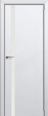 """Межкомнатная дверь """"6 Е"""", аляска, мат. с 4-х сторон"""
