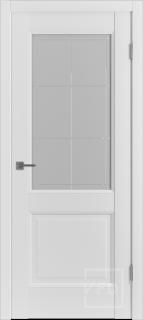 "Межкомнатная дверь ""Emalex 2"", по Emalex Ice"