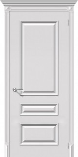 "Межкомнатная дверь ""Фьюжн"", пг, белый"