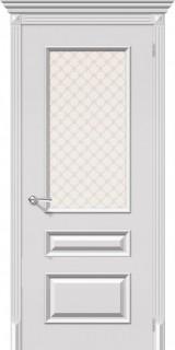 """Межкомнатная дверь """"Фьюжн"""", по, белый"""