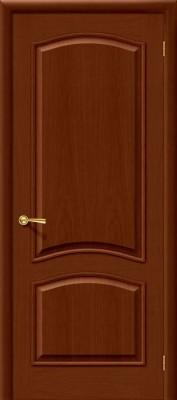 """Межкомнатная дверь """"Капри 3"""", пг, темный орех"""