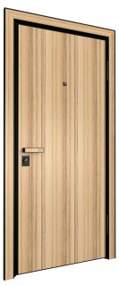 Входная дверь AL - LITE 1, кокоболо