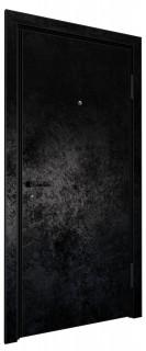 Входная дверь AL - LITE 1, черный