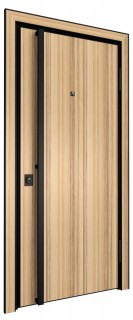 Входная дверь AL - LITE 2, кокоболо