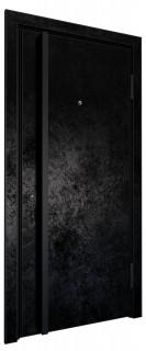 Входная дверь AL - LITE 2, черный