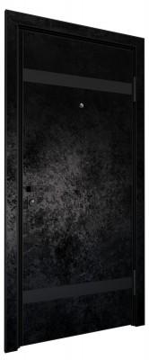 Входная дверь AL - LITE 3, черный