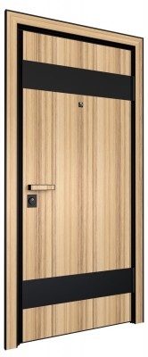 Входная дверь AL - LITE 4, кокоболо
