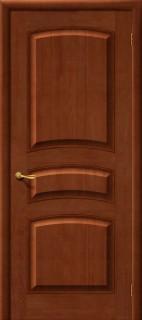 Межкомнатная дверь М 16, пг, светлый лак