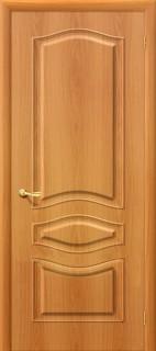 """Межкомнатная дверь ПВХ """"Модена"""", пг, миланский орех"""