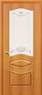 """Межкомнатная дверь ПВХ """"Модена"""", по, миланский орех"""