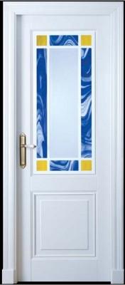 """Межкомнатная дверь """"ISLAS Lido"""", по, белая"""