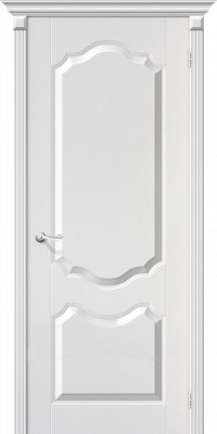 """Межкомнатная дверь ПВХ """"Перфекта"""", пг, белый"""