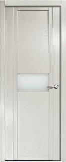 Межкомнатная дверь Qdo H, по, ясень жемчуг