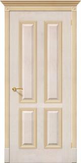 """Межкомнатная дверь """"Плимут"""", пг, слоновая кость"""