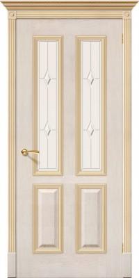 """Межкомнатная дверь """"Плимут"""", по, слоновая кость"""