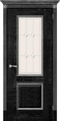 """Межкомнатная дверь """"Триест"""", по, черный абрикос"""