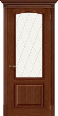 """Межкомнатная дверь """"Верона Деканте"""", по, рустик орех"""