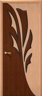 """Межкомнатная дверь """"Дуэт"""", пг, дуб"""