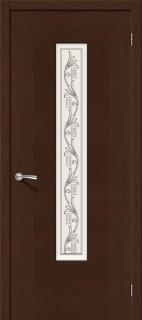 """Межкомнатная дверь """"Рондо"""", по, венге"""