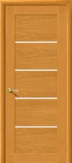 """Межкомнатная дверь """"Токио 5"""", пг, дуб натуральный"""