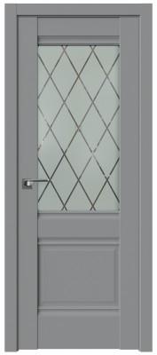 Межкомнатная дверь 2U, манхэттен, ромб