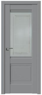Межкомнатная дверь 2U, манхэттен, мадрид