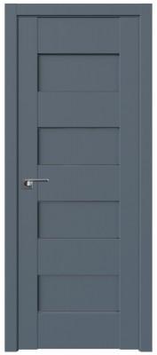 Межкомнатная дверь 45U, антрацит