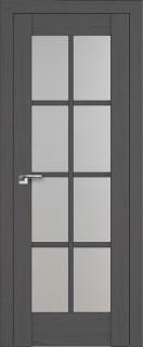 """Межкомнатная дверь """"101х"""", по, пекан темный"""