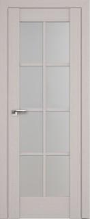 """Межкомнатная дверь """"101х"""", по, пекан белый"""