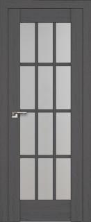 """Межкомнатная дверь """"102х"""", по, пекан темный"""