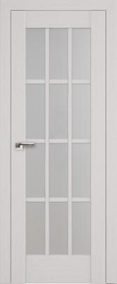 """Межкомнатная дверь """"102х"""", по, пекан белый"""
