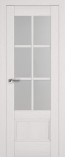"""Межкомнатная дверь """"103х"""", по, пекан белый"""
