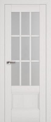 """Межкомнатная дверь """"104х"""", по, пекан белый"""