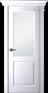 "Межкомнатная дверь ""Альт"", по, белая"