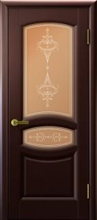 """Межкомнатная дверь """"Анастасия"""", по, венге"""