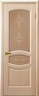 "Межкомнатная дверь ""Анастасия"", по, беленый дуб"