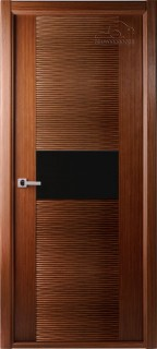 "Межкомнатная дверь ""Авангард люкс"", по, орех"
