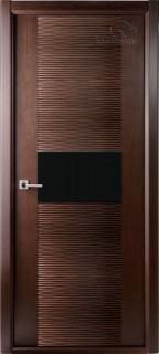 """Межкомнатная дверь """"Авангард люкс"""", по, венге"""