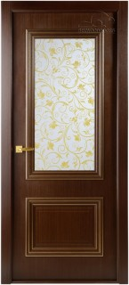 """Межкомнатная дверь """"Франческа"""", по, венге"""