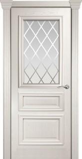 """Межкомнатная дверь """"Бристоль Сити"""", по, ясень жемчуг"""